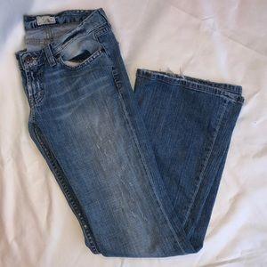 BKE Denim | light wash boot cut jeans